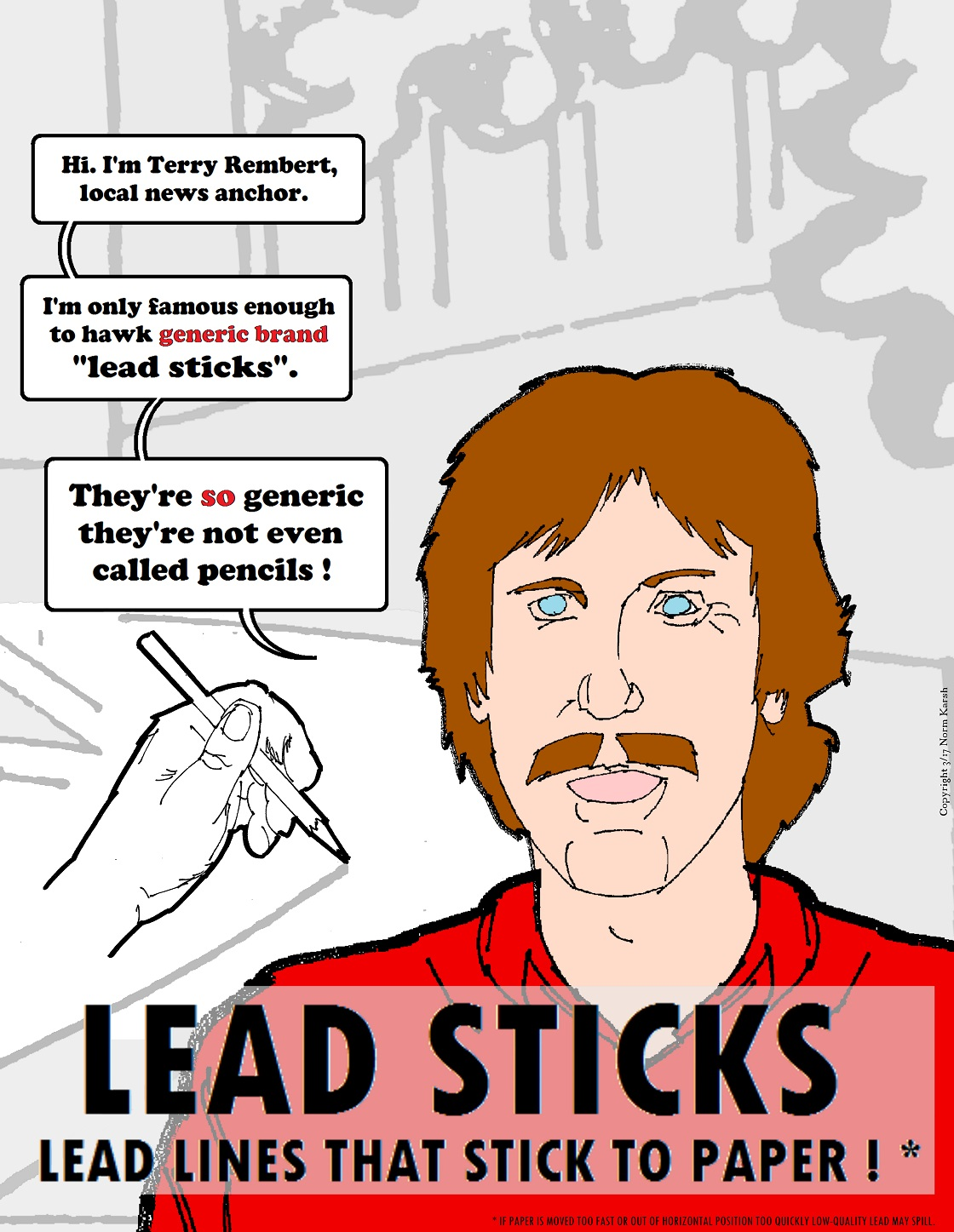 Lead Sticks